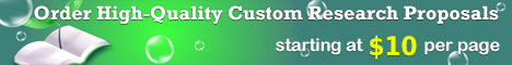 Order Custom Research Proposal on Quality Customer Service